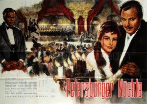 Filmplakat Petersburger Nächte 02