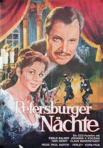 Filmplakat Ptersburger Nächte 03