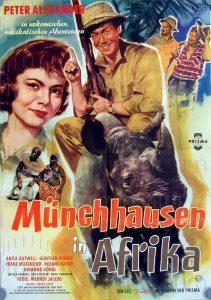 Filmplakat Münchhausen in Afrika