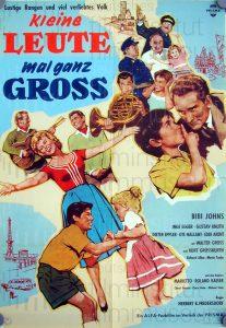 Filmplakat Kleine Leute mal ganz groß