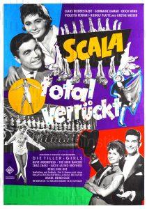 Filmplakat Scala - total verrückt 01