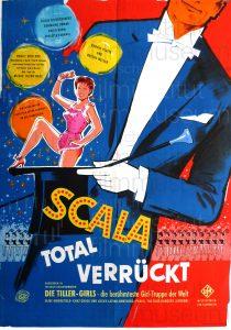 Filmplakat Scala - total verrückt 02