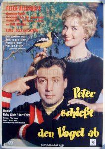Filmplakat Peter schießt den Vogel ab