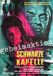 Filmplakat Geheimaktion Schwarze Kapelle 01