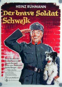 Filmplakat Der brave Soldat Schwejk