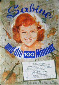 Filmplakat Sabine und die 100 Männer 01