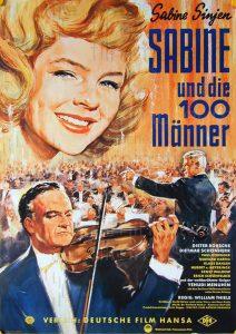 Filmplakat Sabine und die 100 Männer 02