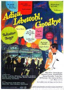 Filmplakat Adieu, Lebewohl, Goodbye 01