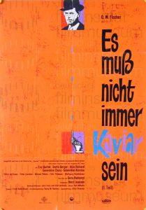 Filmplakat Es muß nicht immer Kaviar sein 01
