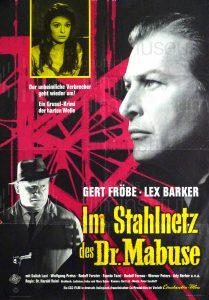 Filmplakat Im Stahlnetz des Dr. Mabuse
