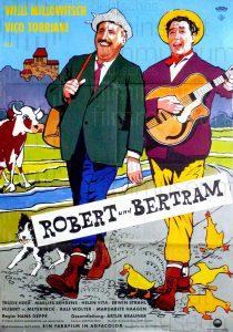 Filmplakat Robert und Betram