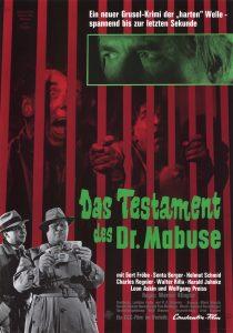 Filmplakat Das Testament des Dr. Mabuse 01