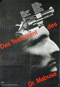 Filmplakat Das Testament des Dr. Mabuse 02