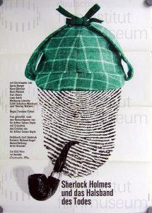 Filmplakat Sherlock Holmes und das Halsband des Todes 02