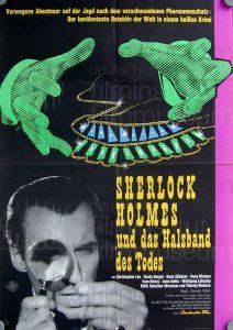 Filmplakat Sherlock Holmes und das Halsband des Todes