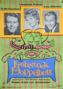 Filmplakat Frühstück im Doppelbett 02