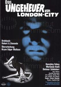 Filmplakat Das Ungeheuer von London-City