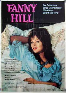 Filmplakat Fanny Hill