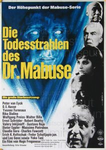 Filmplakat Die Todesstrahlen des Dr. Mabuse 01