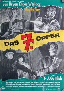 Filmplakat Das 7. Opfer 01