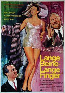 Filmplakat Lange Beine - Lange Finger 02