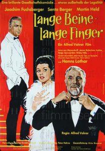 Filmplakat Lange Beine - Lange Finger