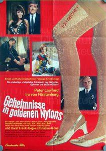 Filmplakat Geheimnisse in goldenen Nylons