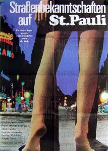 Filmplakat Straßenbekanntschaften auf St. Pauli