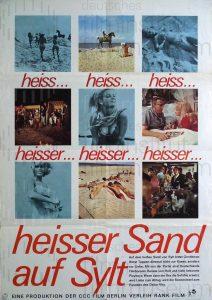 Filmplakat Heißer Sand auf Sylt
