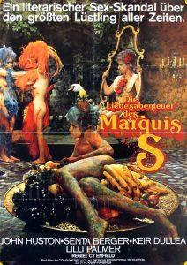 Filmplakat Das ausschweifende Leben des Marquis de Sade