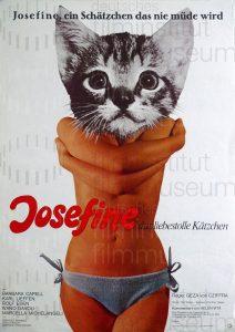 Filmplakat Josefine, das liebestolle Kätzchen