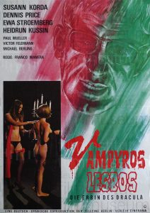 Filmplakat Vampyros Lesbos