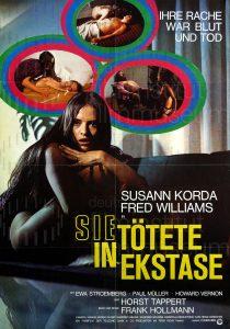 Filmplakat Sie tötete in Ekstase
