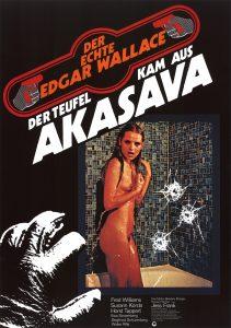Filmplakat Der Teufel kam aus Akasava