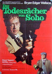 Filmplakat Der Todesrächer von Soho 01