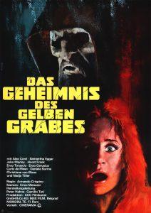 Filmplakat Das Geheimnis des gelben Grabes