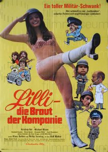 Filmplakat Lilli - Die Braut der Kompanie