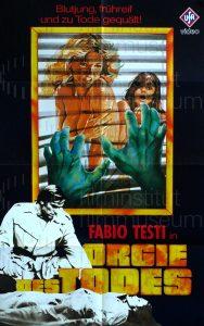 Filmplakat Orgie des Todes