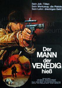 Filmplakat Der Mann, der Venedig hieß