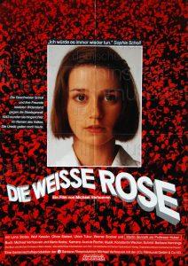 Filmplakat Die weisse Rose